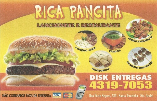 Rica Pancita Lanchonete e Restaurante