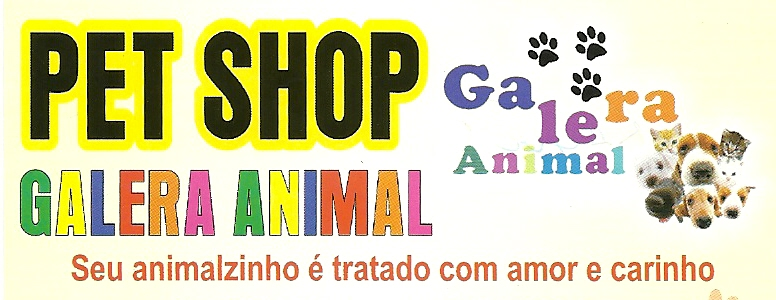 Pet Shop Galera Animal